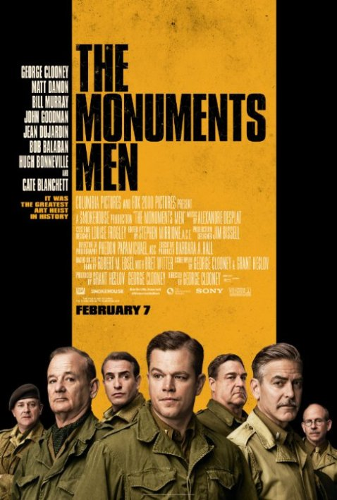 The Monuments Men 2014